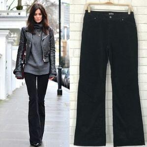 J.Jill Black Corduroy Flare Jeans Size 16P NWOT